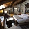 master bedroom 1 chalet du saut
