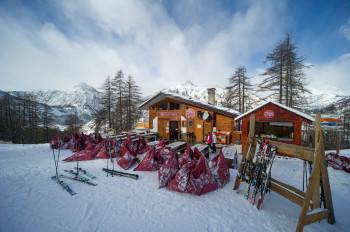 Our bar / restaurant on Les Arnauds slopes, I BIRICHINI