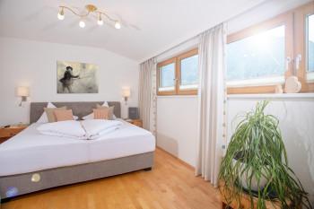 Schlafzimmer im Apartment AchenSeeLoft