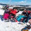 Winteraussicht auf den Kurort Oberwiesenthal