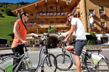 E-Bikes im Hotel Gaspingerhof