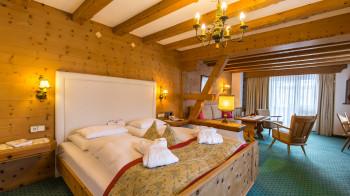 Liebevoll eingerichtete Zimmer und Suiten im Hotel Gaspingerhof