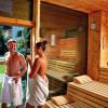 Sauna im Hotel Gaspingerhof