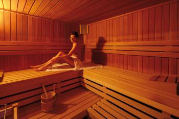 Wellnessbereich mit Saunas