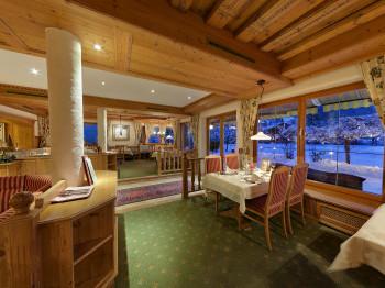 Speisesaal Alpenhotel Tirolerhof in Neustift