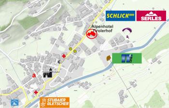 Alpenhotel Tirolerhof und Umgebung