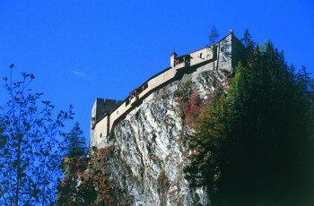 Burg Berneck 15 min vom Haus Möslehof