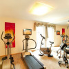 Fitness-Center im Haus
