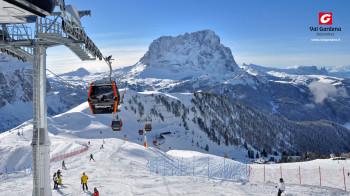 Skifahren in den Dolomiten - Gröden