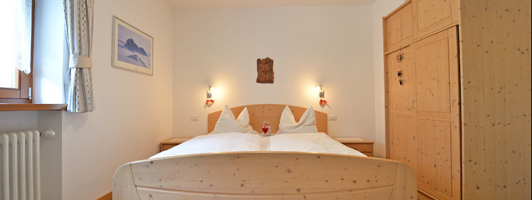 Schlafzimmer - Apartments Dolomie