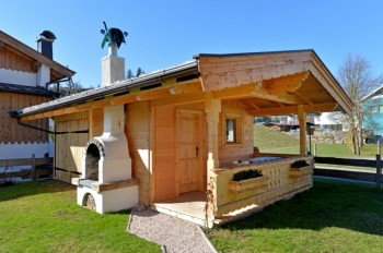 Gartenhaus/Grillhütte