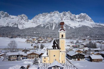 Going am Wilden Kaiser im Winter