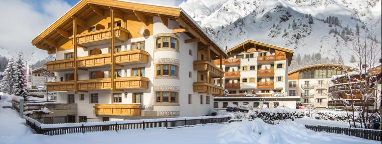 Appartement Panorama im Winter