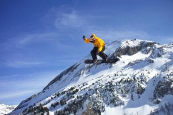 Funpark für Freestyler und Snowboarder