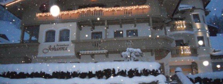 Ferienhaus Johanna im Winter