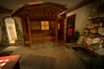 Almsauna im Haus