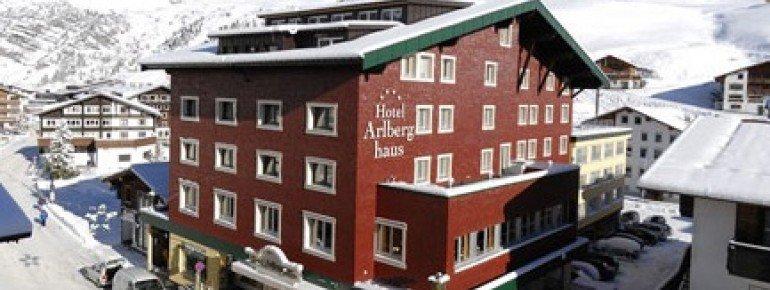 Hotel Arlberghaus - Außenansicht