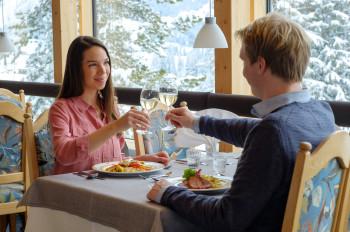 Panorama-Restaurant auf 1.100 m