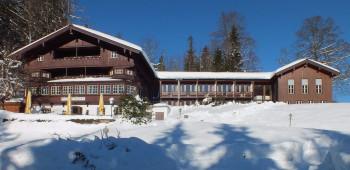 Berghotel Sudelfeld im Winter
