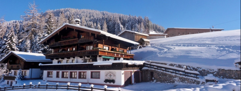 BergwaldPension mit Zimmer & AppartementsHnr 439A - 6236 Alpbach / Tyrol