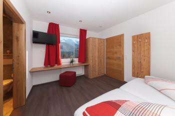 """Schlafzimmer 2 Apartment """"Dorfblick"""""""