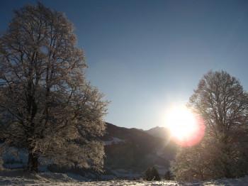Sonnenaufgang am Maurachgut