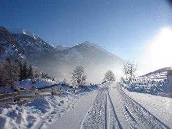 Wunderschöne Winterlandschaft - Zufahrt mit PKW bis zum Bauernhof möglich