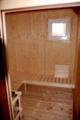 Die Sauna!