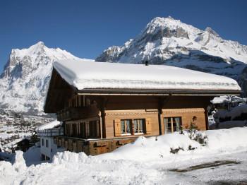 Chalet Alta im Winter