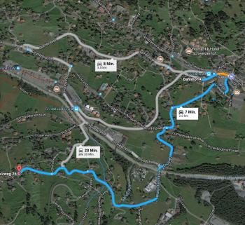 Karte Grindelwald