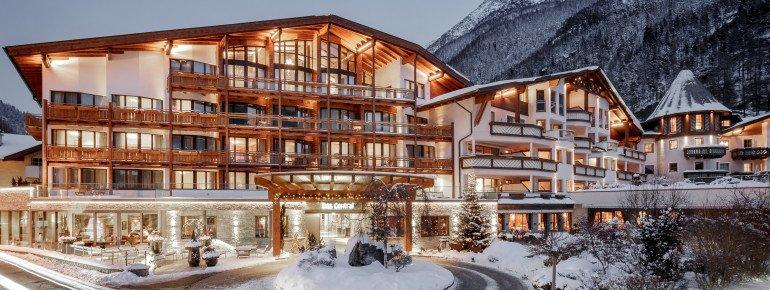 Hotelansicht DAS CENTRAL in Sölden
