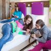Auch Doppelzimmer mit Bettschublade verfügbar