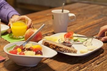 Vitales Frühstücksbuffet