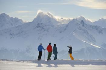 Winter - Skifahren - Snowboarden - Wintergenuss