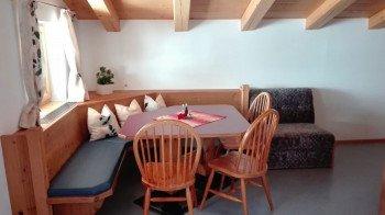 Wohnküche Ferienwohnung Rohrmoos