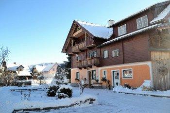 Unser Ferienhaus mit Skiraum