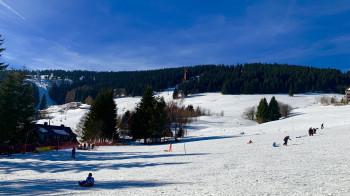 Blick zum Rodel & Skihang
