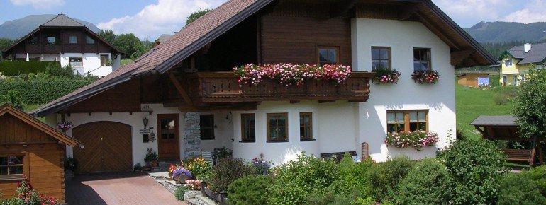 Sommeransicht Haus Esl