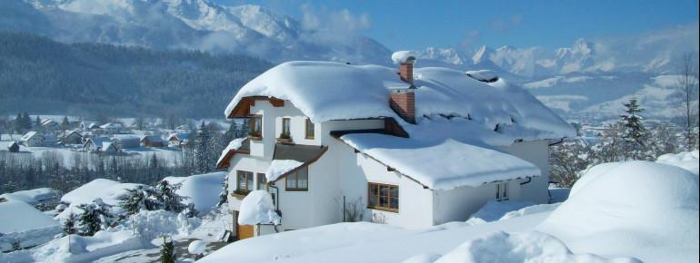 Winter im Haus Löger