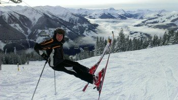 tolles Skigebiet- Leogang-Saalbach- Fieberbrunn