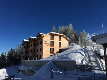 Hotel Turrenhuis im Winterkleid