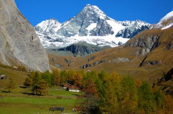 Großglockner 3397m höchter Berg in Österreich