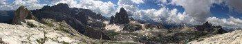 Einzigartige Bergwelt der Sextner Dolomiten