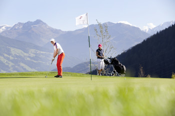 Golf in Uderns im Zillertal
