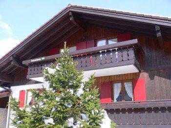 Westseite Alpenliebe Ferienwohnungen