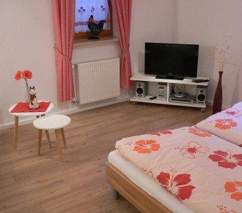 Doppelzimmer Gaisköpfle (zweites Schlafzimmer)