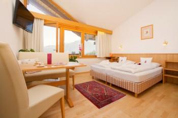 Komfortable Doppelzimmer und traumhafte Apartments mit Küchenzeile