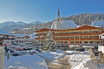Winterfassade Hotel Alte Post