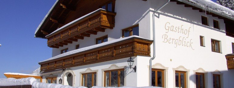Gasthof Bergblick in ruhiger Lage