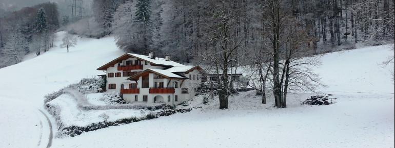 Haus Kleiner Turm im Winter